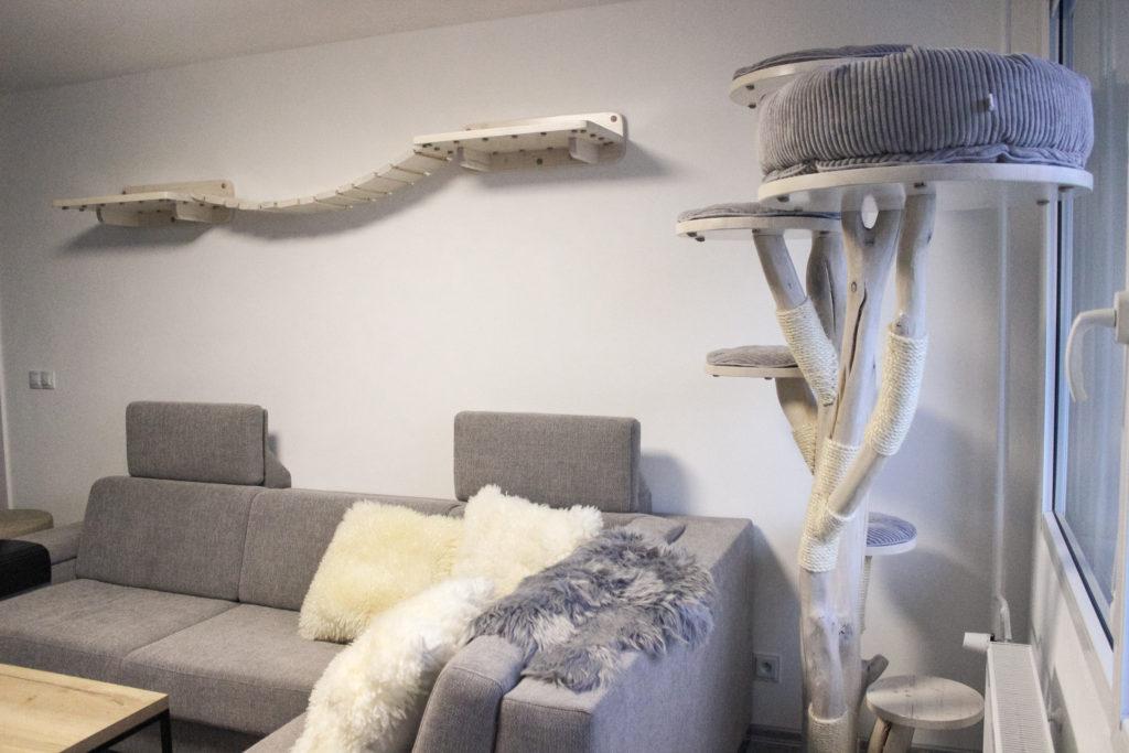 Lávky pro kočky a kočičí strom WoodKocoura